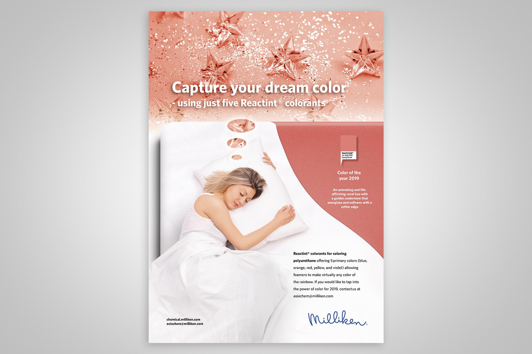 Centigrade - Milliken Pantone Advert