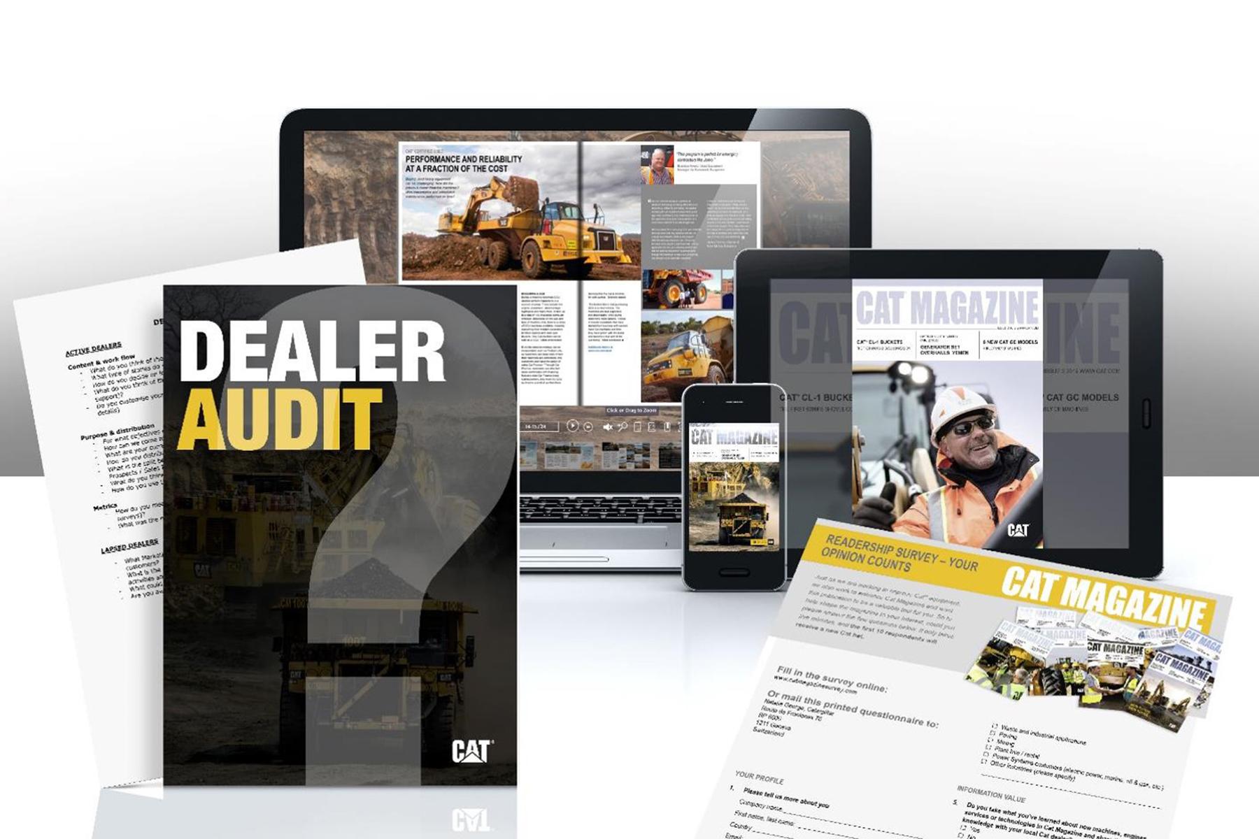 Centigrade - CAT Magazine Reader Survey and Dealer Audit
