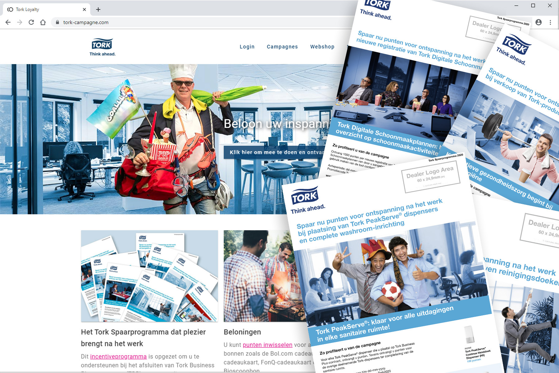 Centigrade - TORK-campagne.com, a Customer Loyalty Program
