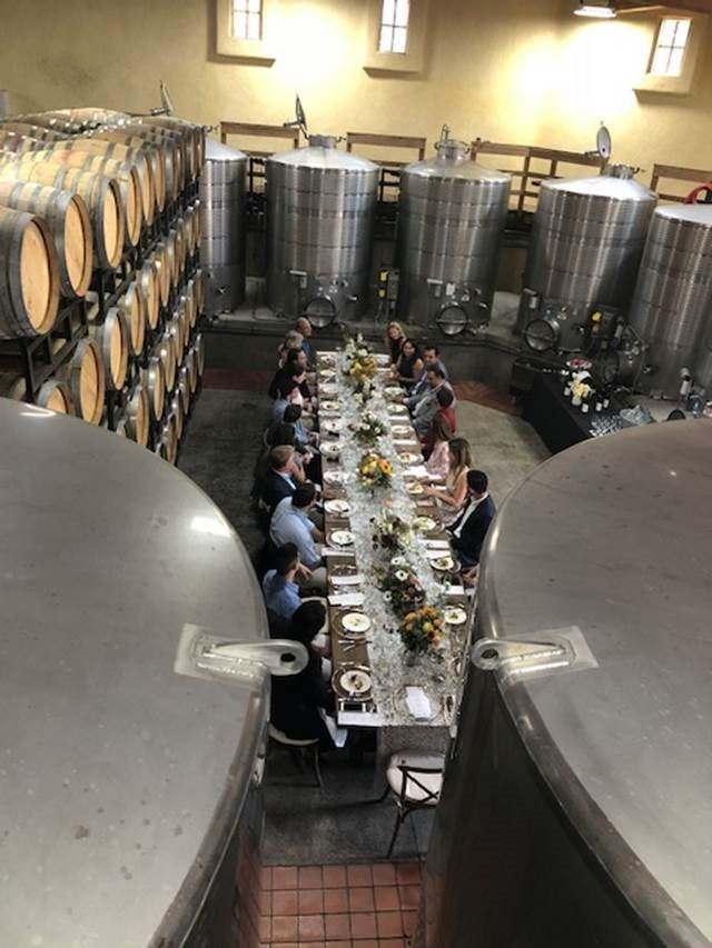 Alfa Romeo media partner, The Atlantic, hosted a private lunch for its VIP guests in the Wine Cellar