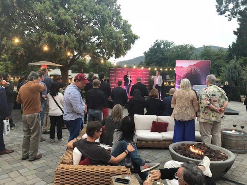 Alfa Romeo media partner, The Motor Trend Group's, party with Ant Anstead of Wheeler Dealers as a host