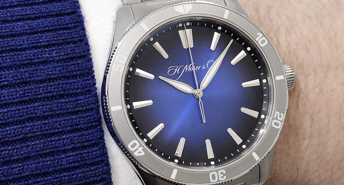 Cellini Watch Fair 19 HM Pioneer Center Seconds Brace wrist