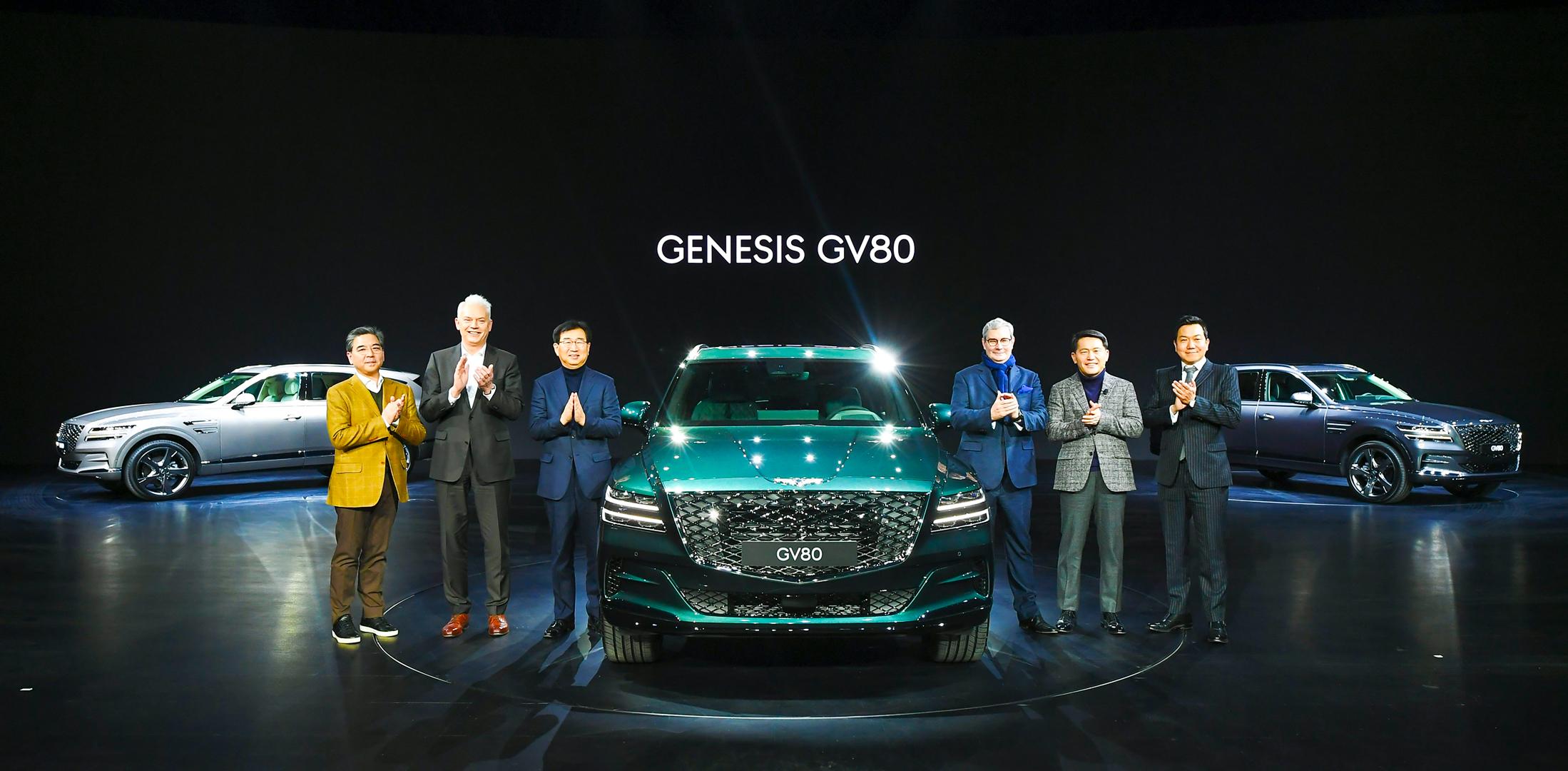 Centigrade Genesis GV80 Press Conference