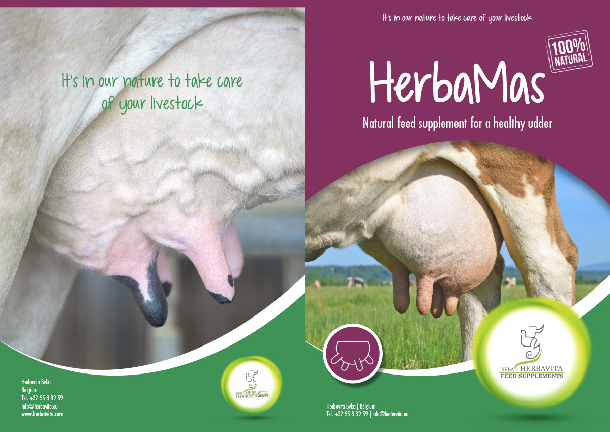 Centigrade - Friendly packaging for Herbavita dairy herd supplements