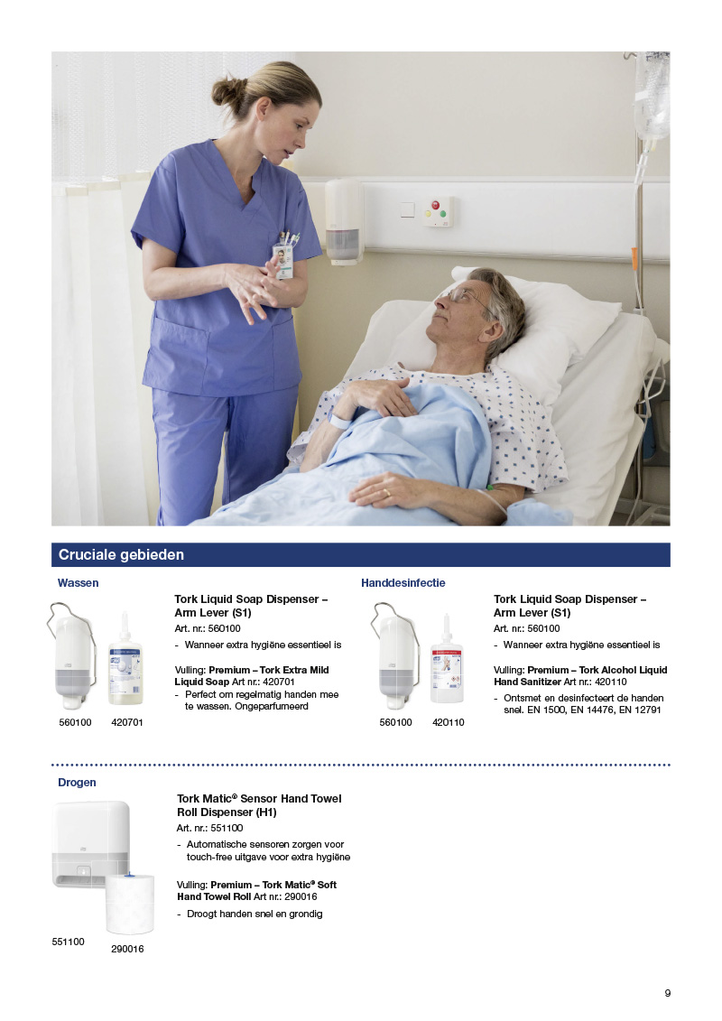 Centigrade - Tork wins with hygiene and brand awareness